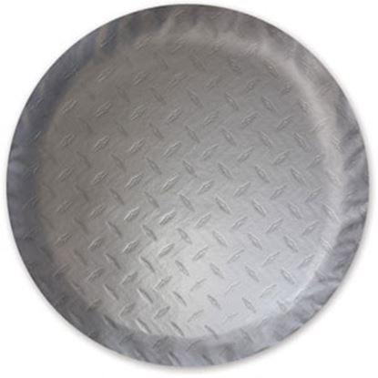 """Picture of ADCO  Steel Look 29-3/4"""" Size-E Spare Tire Cover 9754 01-0219"""