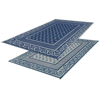 Picture of Faulkner  20' x 8' Blue Reversible Camping Mat 48704 01-0308