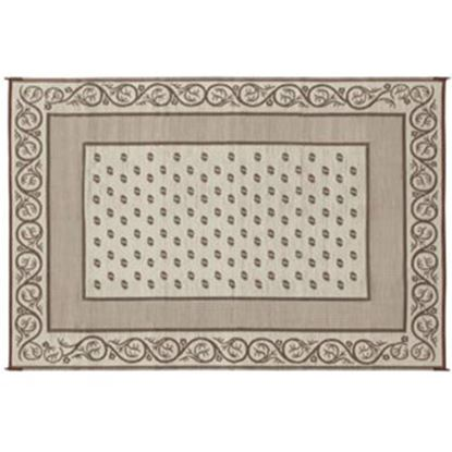 Picture of Faulkner  16' x 8' Beige Reversible Camping Mat 49599 01-0639