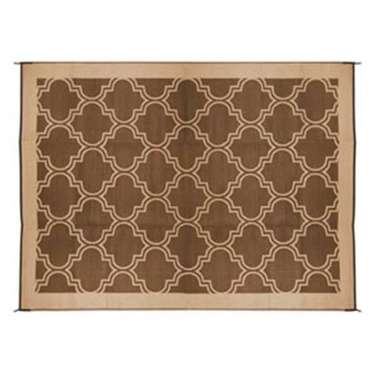 Picture of Camco  9' x 12'  Brown/ Tan Camping Mat 42857 01-0741