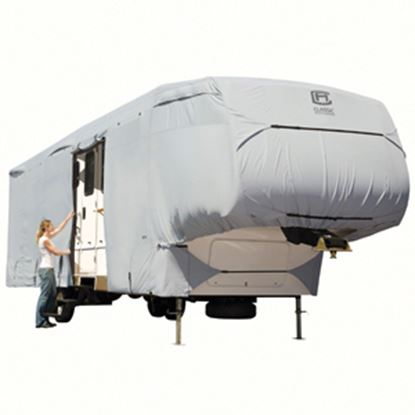 Picture of Classic Accessories PermaPRO (TM) Polyester Water Resistant RV Cover For 29-33' 5th Wheel Trailers 80-318-171001-RT 01-0821