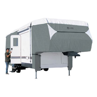 Picture of Classic Accessories PolyPRO (TM) 3 Polyester Water Resistant RV Cover For 26-29' 5th Wheel Trailers 80-347-163101-RT 01-0838