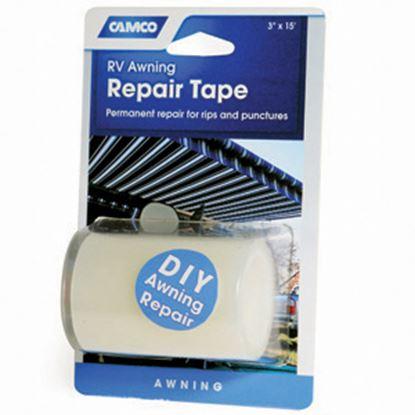 """Picture of Camco  White 3"""" x 15' L Multi Purpose Tape 42613 01-0920"""