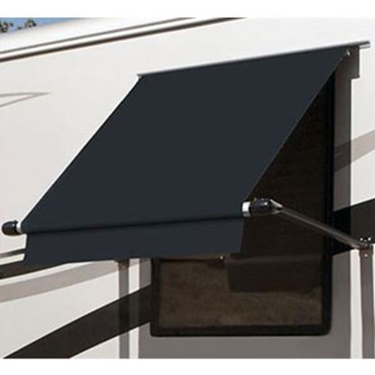 Picture of Carefree SimplyShade (R) Black 3.5' DIY Window Awning WG0354E4EB 01-0929