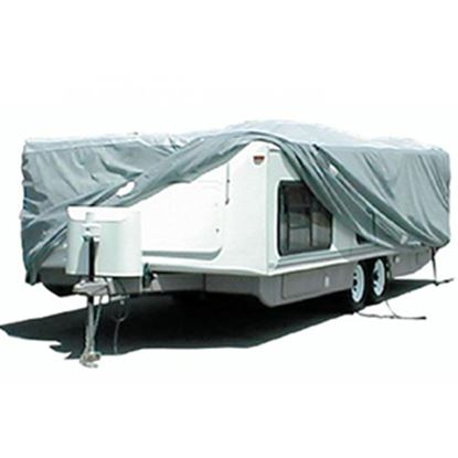 """Picture of ADCO SFS AquaShed (R) 270""""L x 100""""W x 60""""H Cover For Up To 22' 6"""" Hi-Lo Style Trailers 12252 01-1110"""