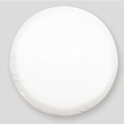 "Picture of ADCO  21.50"" Size O Polar White Spare Tire Cover 1760 01-1970"