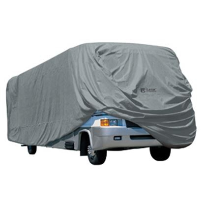 Picture of Classic Accessories PolyPRO (TM) 1 Poly Water Repellent RV Cover For 24-28' Class A Motorhomes 80-161-161001-00 01-3702