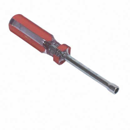 "Picture of AP Products  Red Handle 6.5"" 1/4"" Square Recess Screwdriver 009-ND1/4 02-0265"