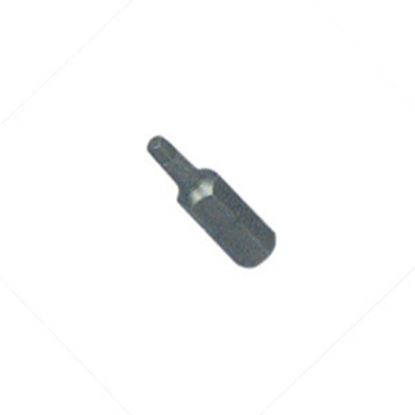"Picture of AP Products  #1 Point 1/4""x1"" Square Recess Power Screw Bit 009-250R1C 02-0296"