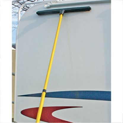 """Picture of Camco  21"""" Rubber Squeegee w/Handle 43733 02-0393"""