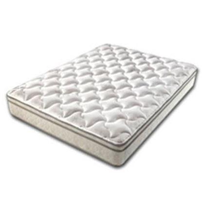 Picture of Denver Mattress Rest Easy Eurotop Short Queen Plush Top BioFlex Foam Mattress 360172 03-0787