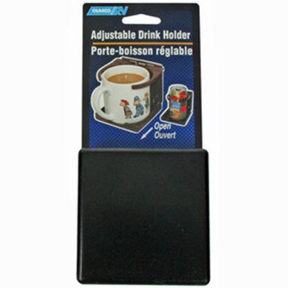 Picture of Camco  Black Adjustable Drink Holder 44044 03-0961