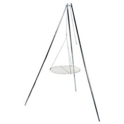 Picture of Camco  Foldable Tripod Style Campfire Grill 51079 03-1478