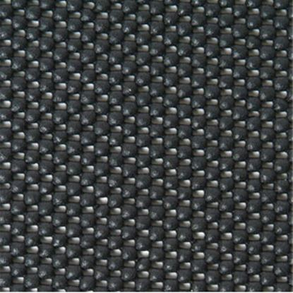 """Picture of Con-Tact  17""""L x 11""""W Black Rectangular Tablecloth KTCH-CPM51-24 03-1484"""