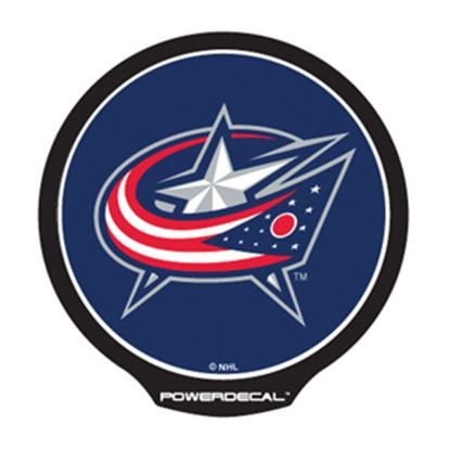 Picture of PowerDecal NHL (R) Series Blue Jackets Powerdecal PWR9701 03-1654