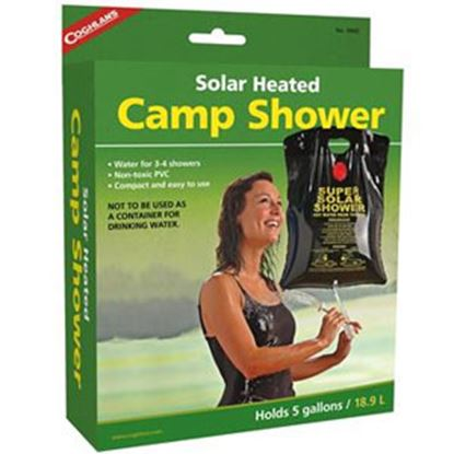 Picture of Coghlan's  5 Gal Gravity Powered Solar Heated Camp Shower 9965 03-1947