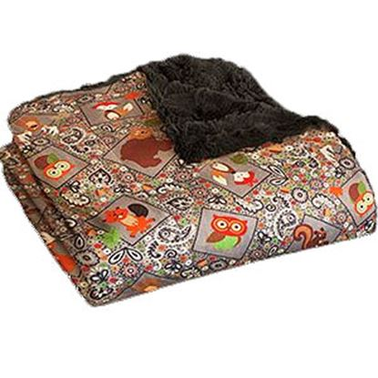Picture of Camp Casual The Throw Polyester Gray Picnic Blanket CC-005CCG 03-2188