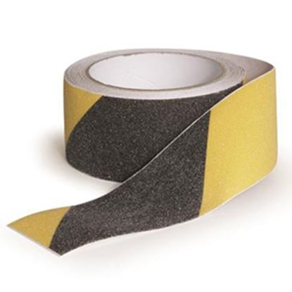 """Picture of Camco  Black/Yellow 2"""" x 15' Grip Tape 25405 04-0230"""