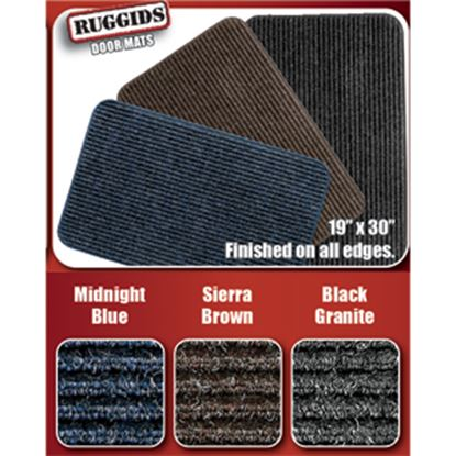 """Picture of Prest-o-Fit Ruggids (TM) Midnight Blue 19"""" x 30"""" Indoor Door Mat 2-0452 04-0442"""