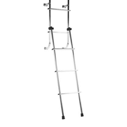Picture of Stromberg Carlson  4' Aluminum RV Coach Rear Mount Ladder LA-148 05-0408