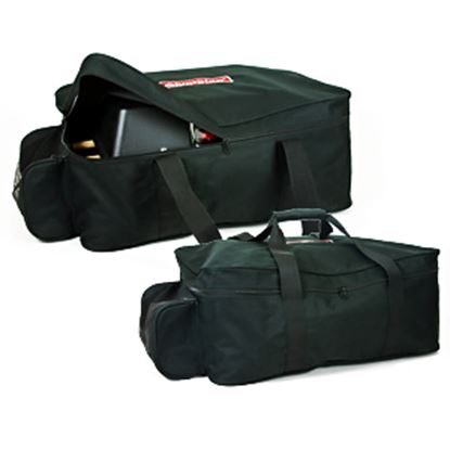 Picture of Camco Olympian  Black Polyester Barbeque Grill Storage Bag w/ Zipper/Drawstring 57632 06-0048