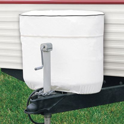 Picture of Classic Accessories  Snow White Vinyl Double 20LB/5Gal LP Tank Cover 79720 06-0607