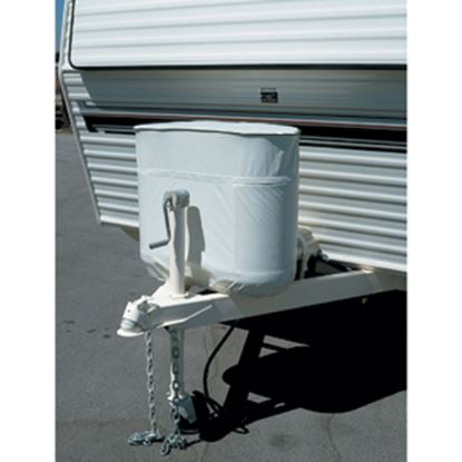 Picture of ADCO  Polar White Vinyl Double 20LB/5Gal LP Tank Cover 2112 06-0625