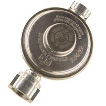 "Picture of Cavagna  1/4"" FNPT Inlet x 3/8"" FNPT Outlet Single Stage Regulator 69-A-890-0002 06-0892"