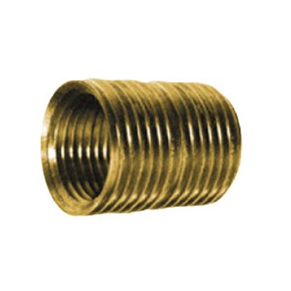 "Picture of Anderson Metal LF 7112 Series 1/4"" MPT Brass Fresh Water Straight Fitting 706112-04 06-9204"