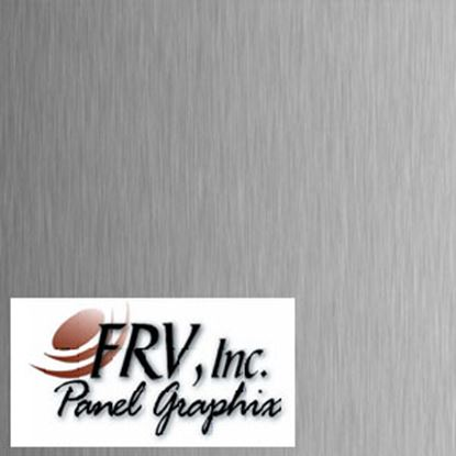 Picture of FRV  N641 Brushed Aluminum Refrigerator Door Panel N641BA 07-0692