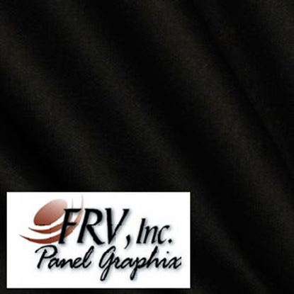 Picture of FRV  N841 Black Acrylic Refrigerator Door Panel N841L 07-0701
