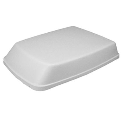 "Picture of Icon  Aerodynamic Polar White 40""L Shroud For Dometic Air Conditioner 00752 08-0002"