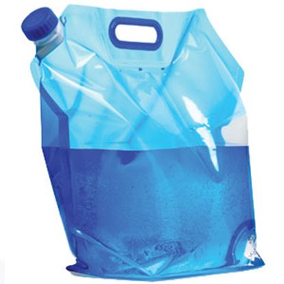 Picture of Camco  10 Liter Blue Expandable Water Carrier 51093 10-0052