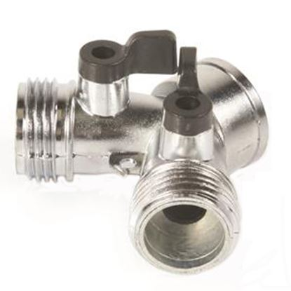 Picture of Camco  Metal Y Hose Shut-Off Valve 20113 10-0801