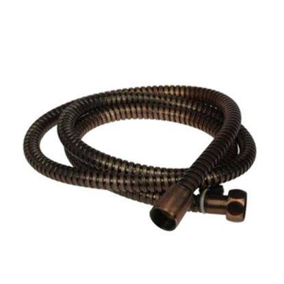 "Picture of Dura Faucet  60""L Bronze Stainless Steel Shower Head Hose DF-SA200-ORB 10-0846"