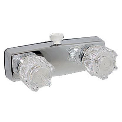 "Picture of Phoenix Faucets  4"" Polished Chrome Plated Brass Shower Valve w/Clear Knobs PF213353 10-0999"