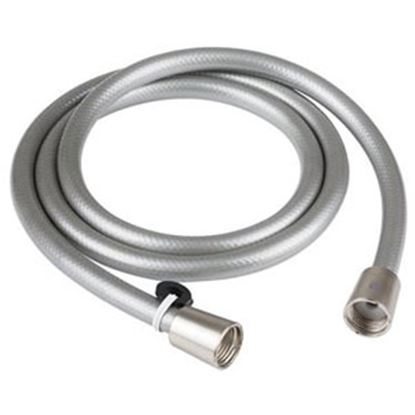 "Picture of Dura Faucet  60""L Brushed Satin Nickel Plated Shower Head Hose DF-SA230-SN 10-1241"