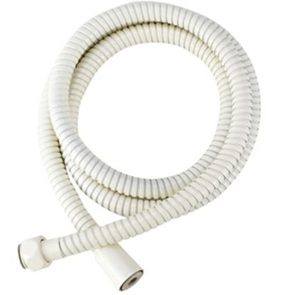 "Picture of Dura Faucet  60""L Bisque Parchment Stainless Steel Shower Head Hose DF-SA200-BQ 10-1377"