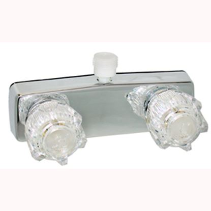 "Picture of Phoenix Faucets  4"" Polished Chrome Plated Brass Shower Valve w/Clear Knobs PF213324 10-1451"