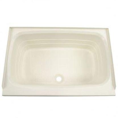 """Picture of Better Bath  Parchment 24""""x36"""" Center Drain ABS Standard Bathtub 209369 10-5729"""
