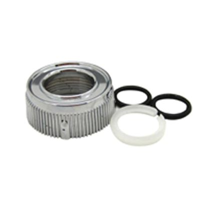 Picture of Dura Faucet  Bisque Tubular Style Faucet Spout Nut For Dura DF-PK210 Hi-Rise DF-RK510-BQ 10-9018