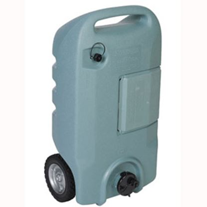 Picture of Tote-N-Stor  15 Gal 2-Wheel Portable Waste Holding Tank w/ Tow Bracket 25607 11-0225