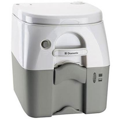 Picture of Dometic 976 Model 5 Gal Gray Portable Toilet 301097606 12-0023