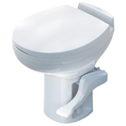 Picture of Thetford Aqua Magic (R) Residence Aqua Magic Residence White High Profile Permanent Toilet 42169 12-0280