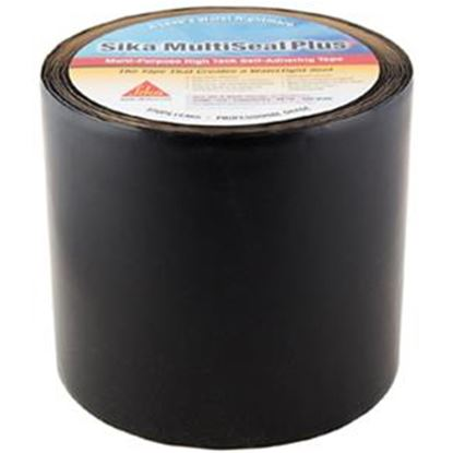 "Picture of Sika Multiseal Plus Black 6"" x 50' Roll TPO Roof Repair Tape 017-404096 13-0037"