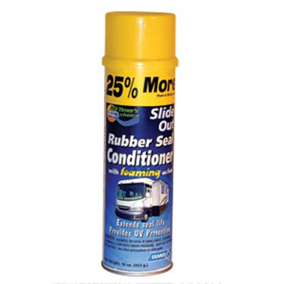 Picture of Camco  16Oz Aerosol Slide Out Seal Conditioner w/English Package 41135 13-0480