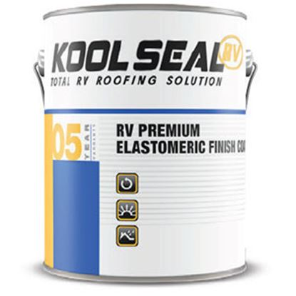 Picture of Kool Seal  1 Gal White Roof Coating For RV Roofs KSRV08600-16 13-0697