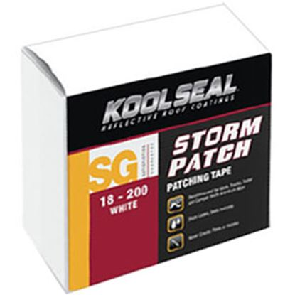 "Picture of Kool Seal  White 2"" x 42' Roll Roof Repair Tape KS0018200-99 13-0794"