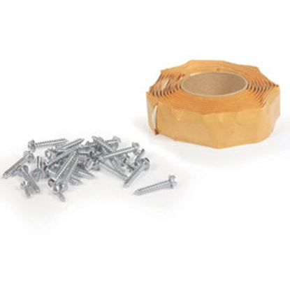 Picture of Camco  White Butyl Tape Rubber Roof Vent Installation Kit 25013 13-0922