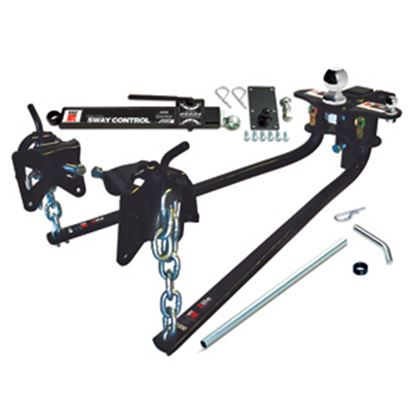 """Picture of EAZ-Lift  1000 Lb Round Bar Weight Distribution Hitch w/Shank & 2-5/16"""" Ball 48058 14-0133"""